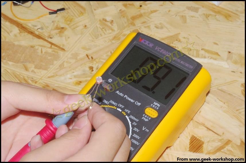 arduino学习笔记9  wbr>-  wbr>光控led实验