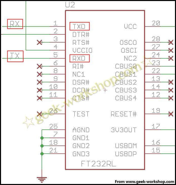 arduino学习笔记19 - atmega8制作最小arduino系统