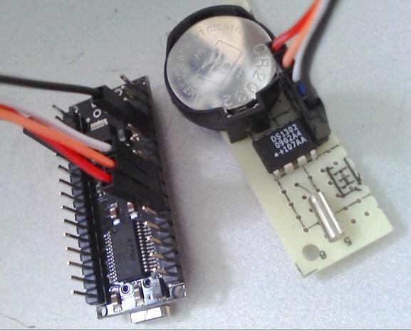 arduino学习笔记a8 - arduino 连接 ds1302时钟模块