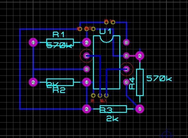 lm324,是4个放大器在一起