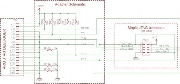 flash loader 准备一个uart转usb模块,将tx端连接到开发板的8号引脚