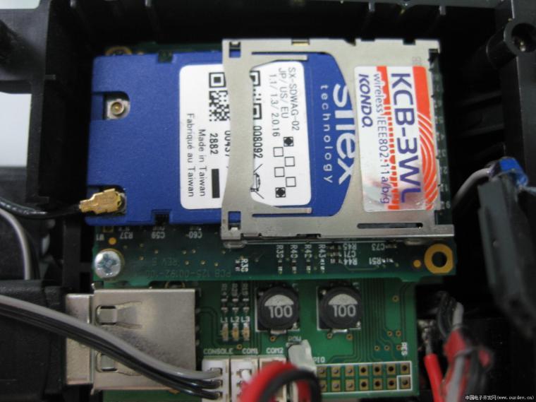 应该是usb保护电路或者电源电路 s3c2440最小系统板 sd卡wifi网卡 sd