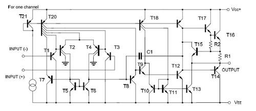 lm358双运算放大器