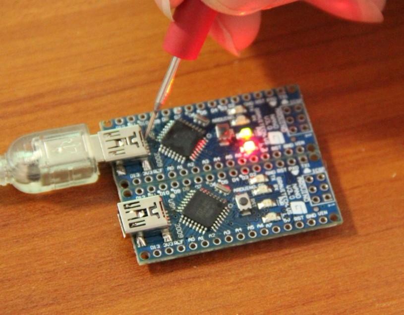 遇到arduino nano 168