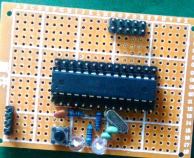 自制arduino 开发板
