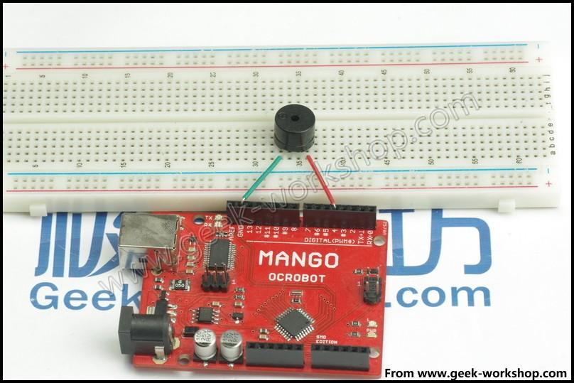 arduino入门教程-第八课-用蜂鸣器模拟警报器