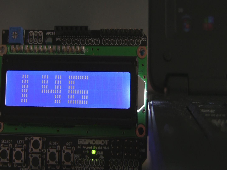 arduino lcd1602自定义新字体