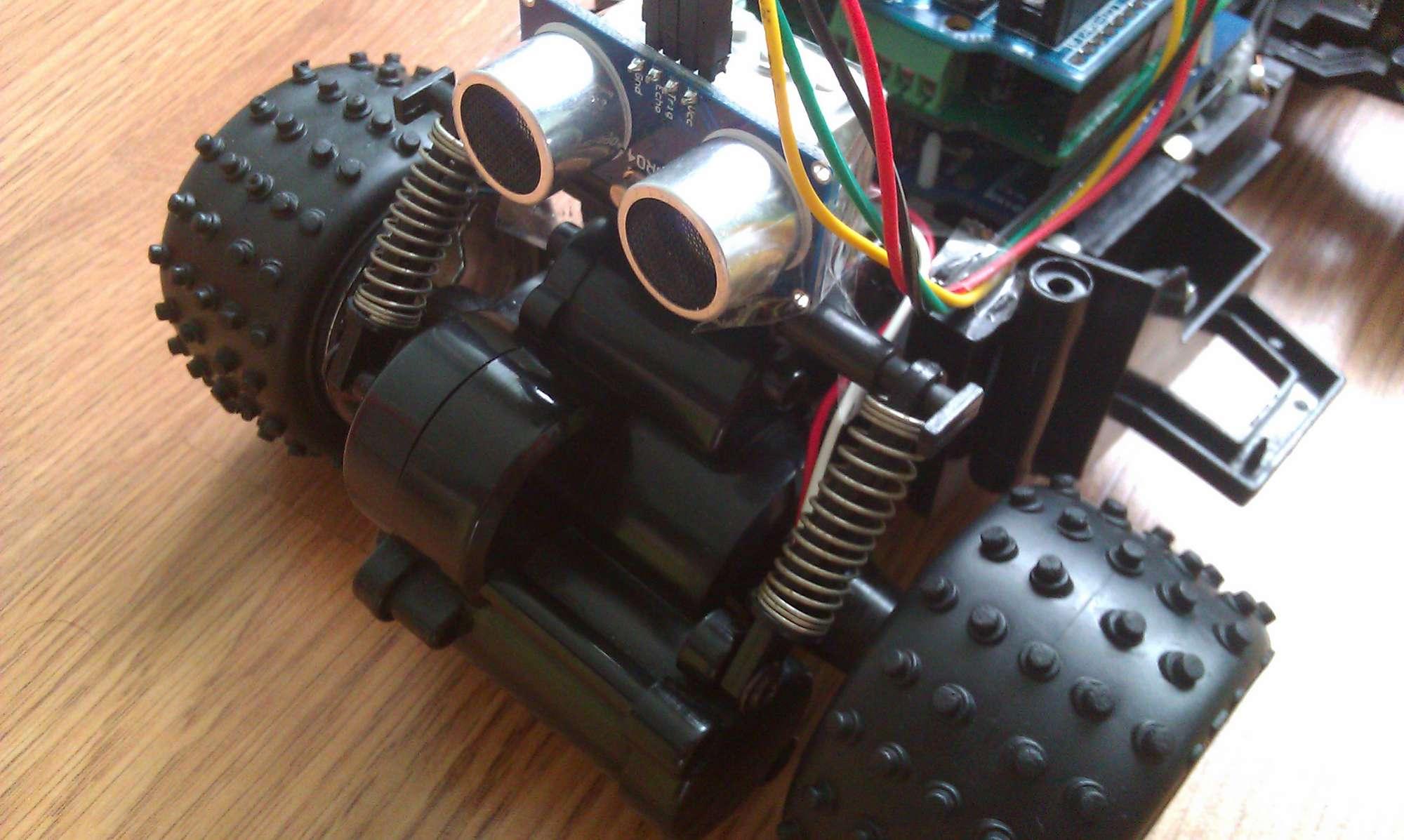 我的arduino小车(1)-外观