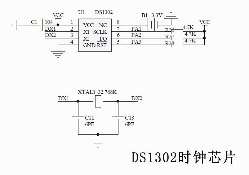 再来篇技术贴:事无巨细,时钟芯片ds1302【转载】