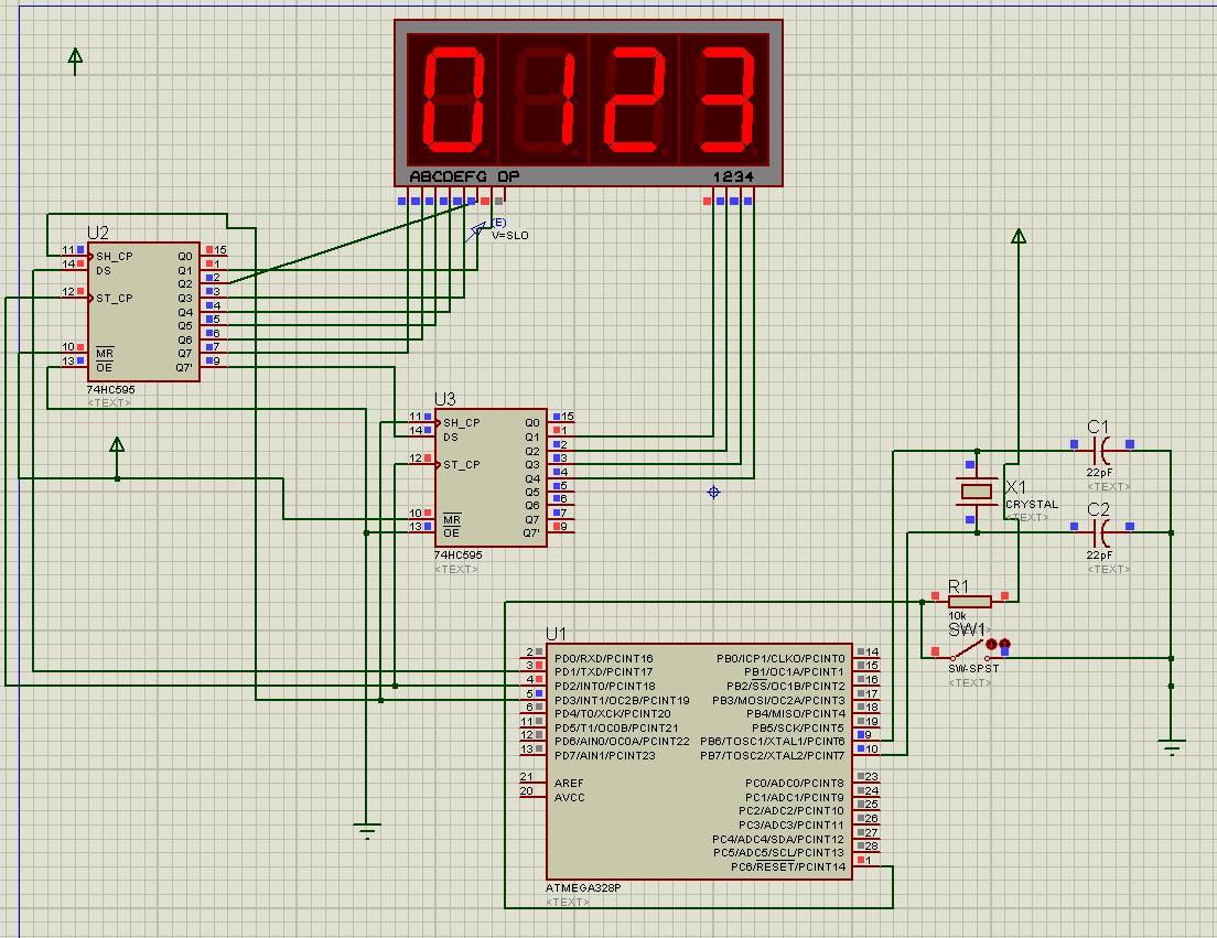 arduino制作led数字时钟的几个