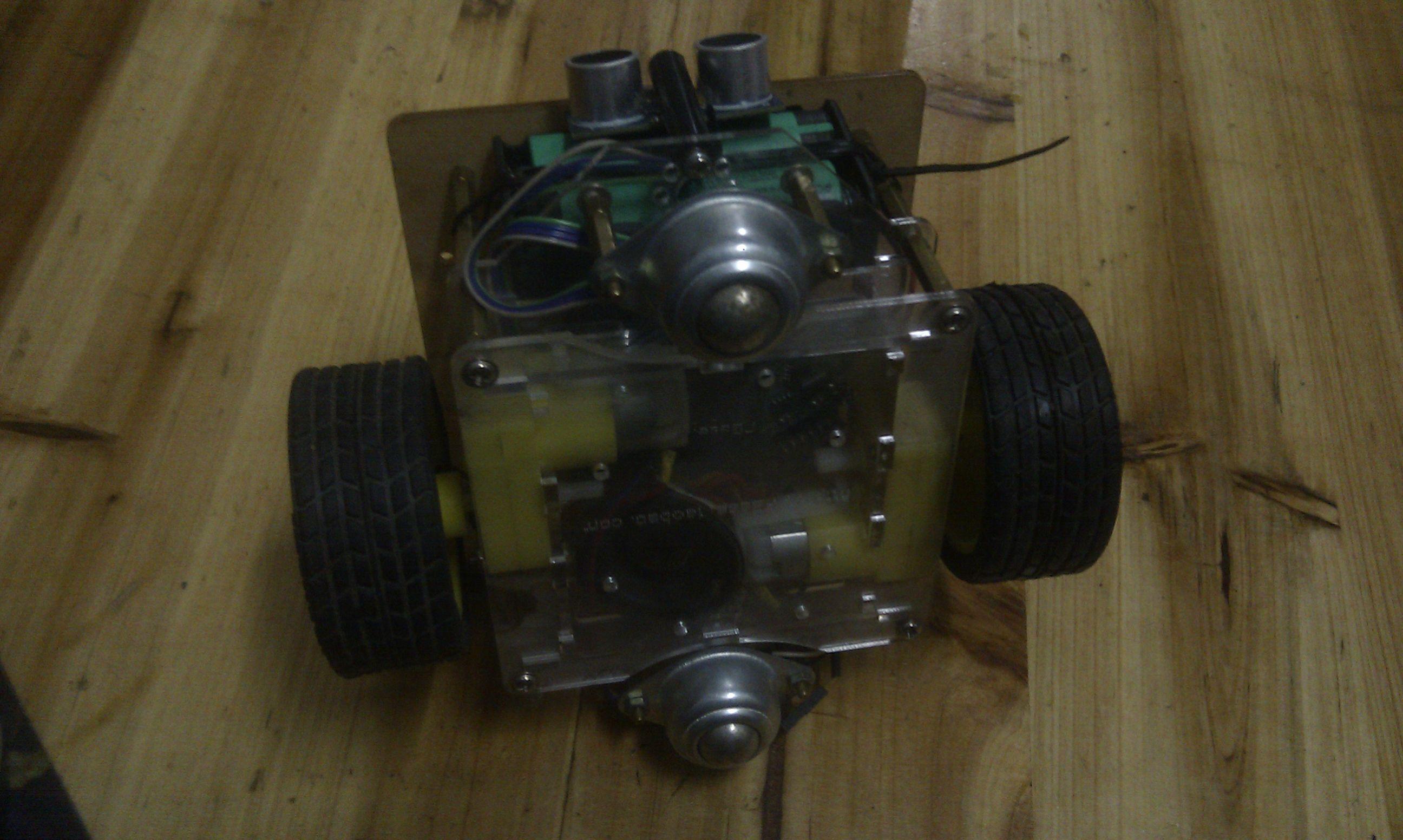 超声波的避障小车接线图arduino