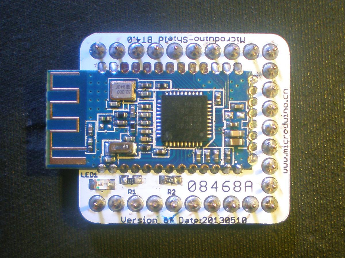 microduino-shield bt4.0 发布!(ogre_c 设计)