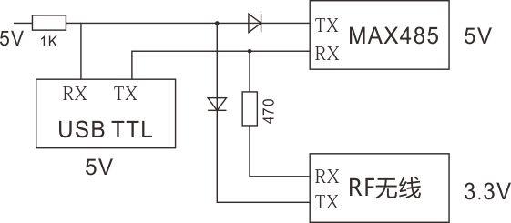 关于不同电压多串口并联电路