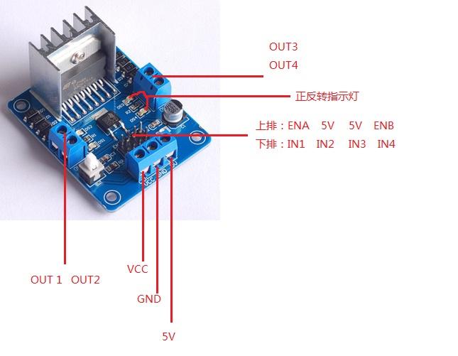 arduino + l298n 接直流电机 求助