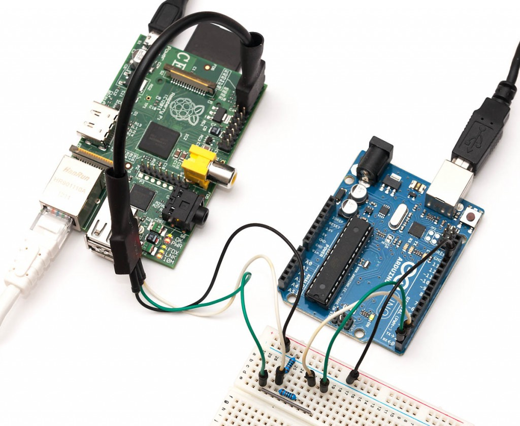 手把手教你树莓派与arduino uno的对接(usb及gpio方式