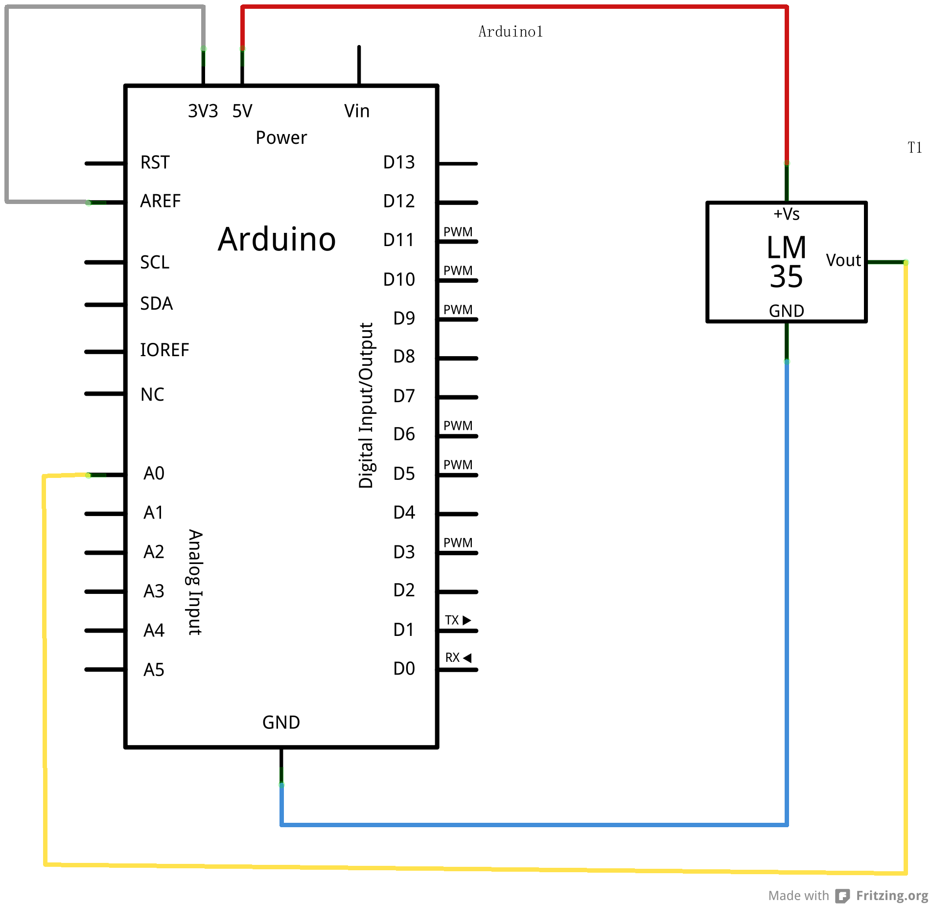 arduino硬件电路图