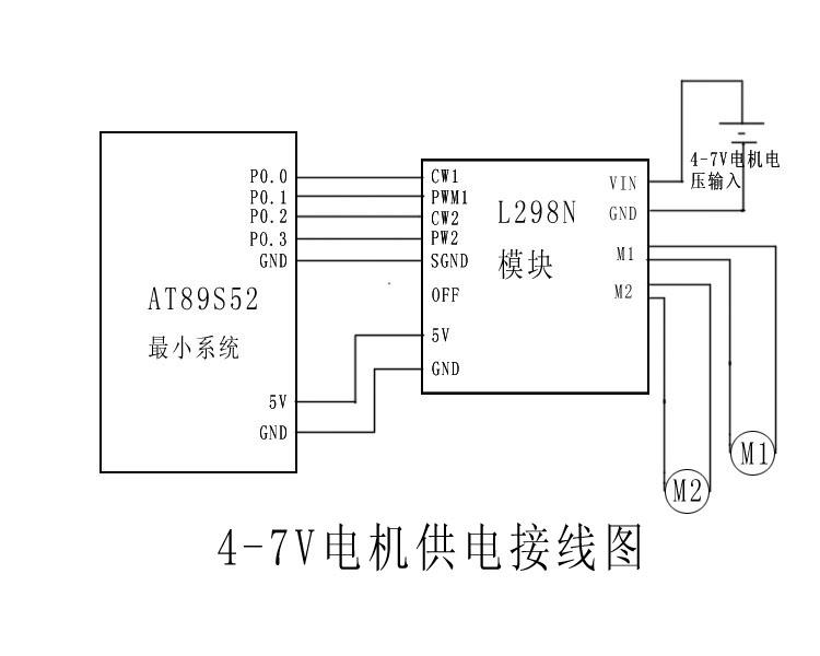 l298n引脚图/l298n驱动电路图/uln2003引脚图