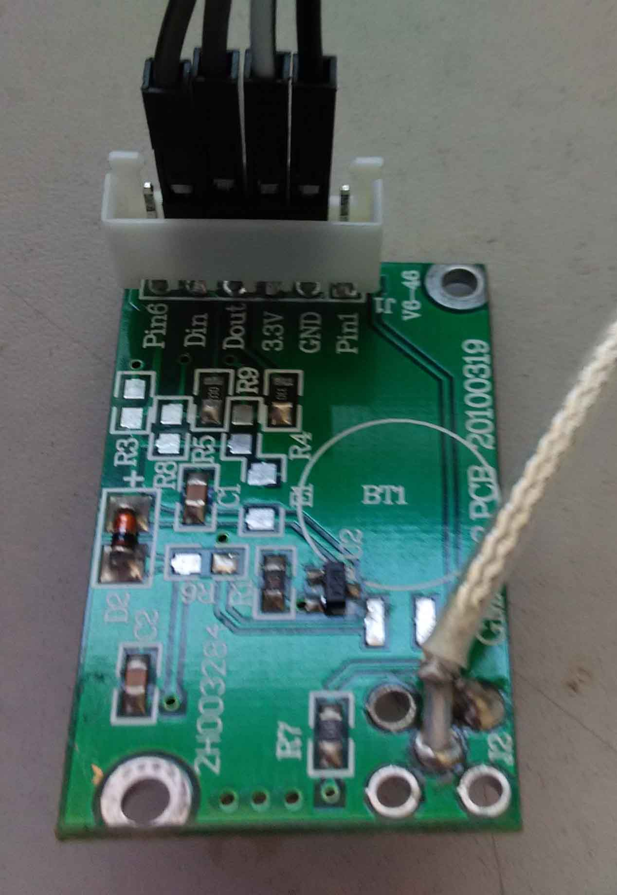 arduino与gps模块的连接
