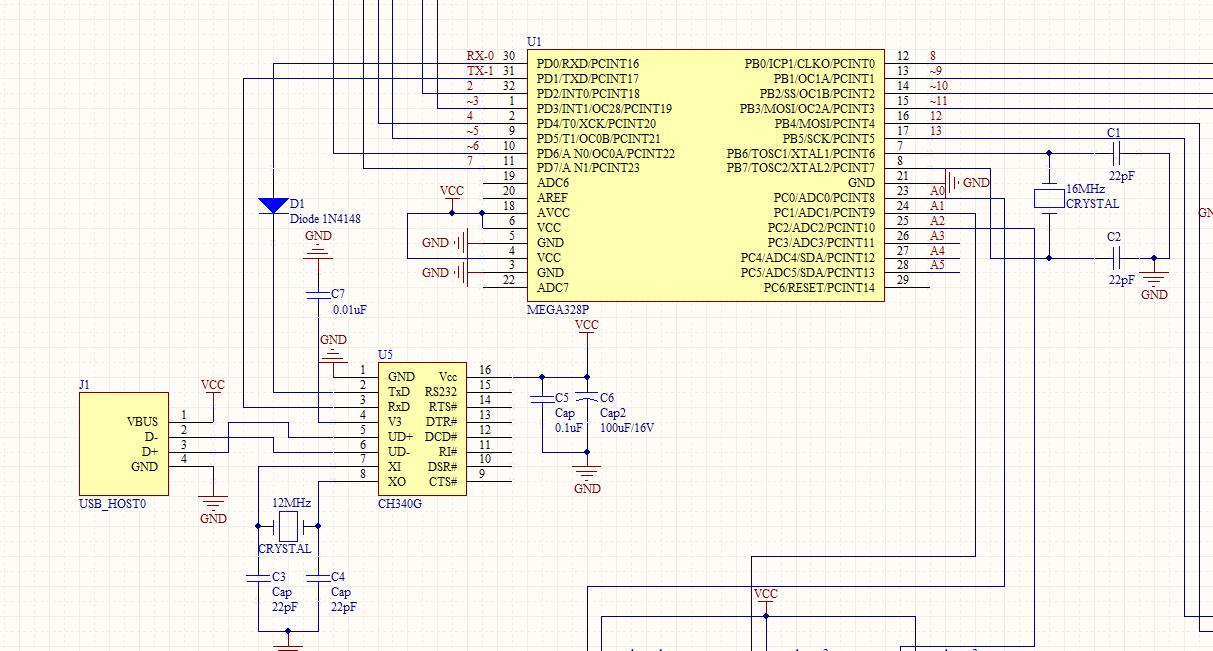 pic8fk80电路图