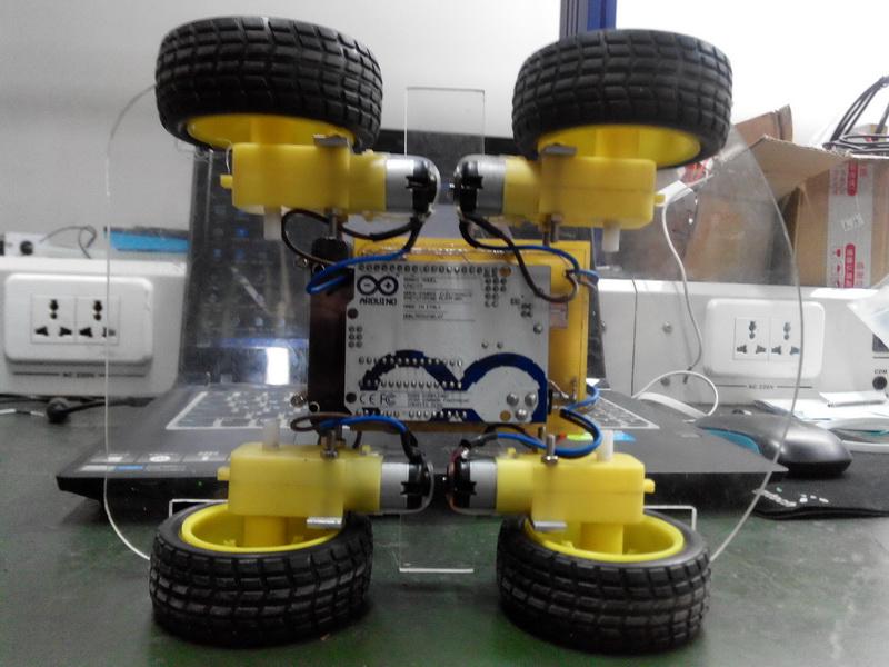 arduino做智能小车电路图