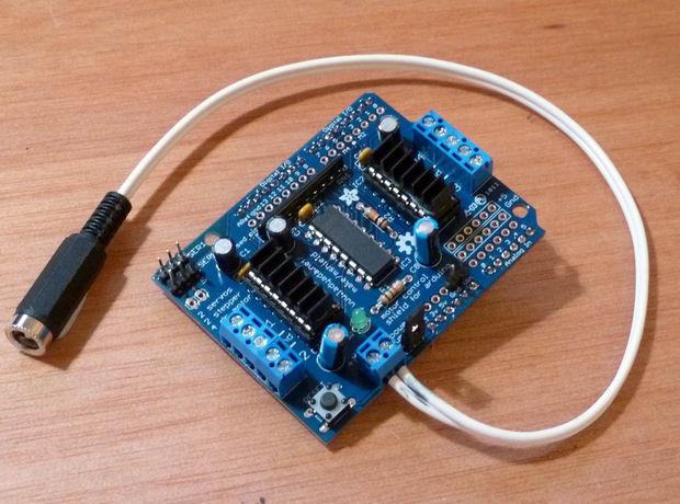 开源软硬件 69 arduino 69 arduino和processing结合的画图机器人