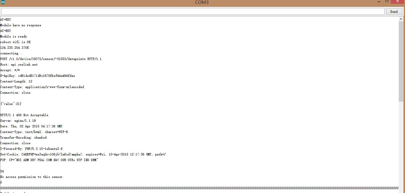 arduino学习笔记14 - itg 3200/3205陀螺仪传感器实验