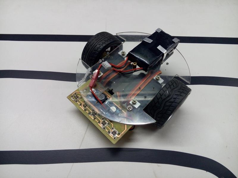 arduino_循迹小车