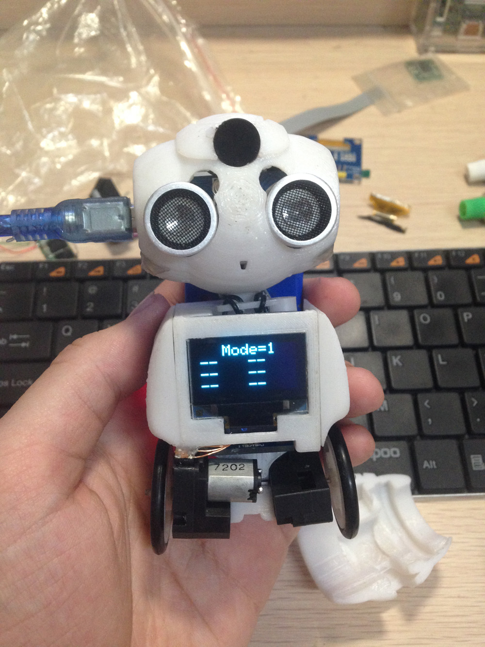 The smallest self balancing robot