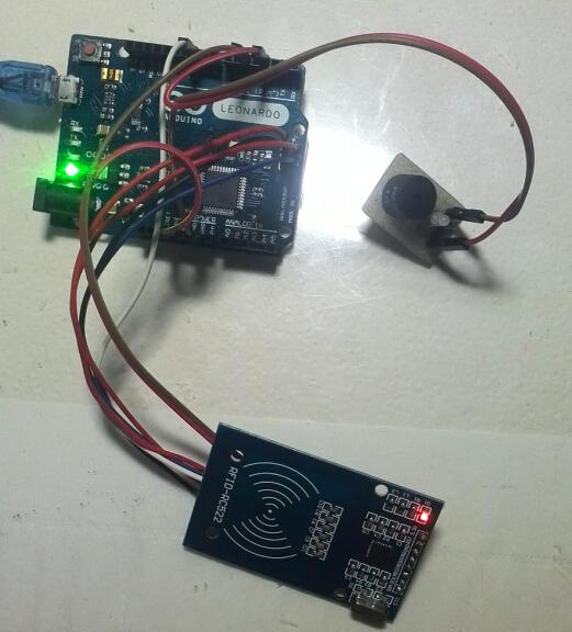 用leonardo做了个感应卡读卡器,可以通过键盘接口输出