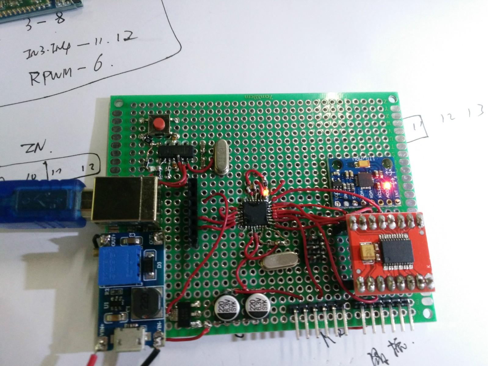 测试LED