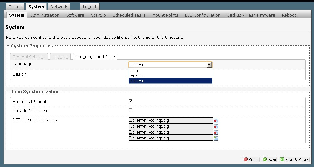 TP-LINK WR703N把OpenWrt语言改为中文教程- WIFI路由改机- 极客