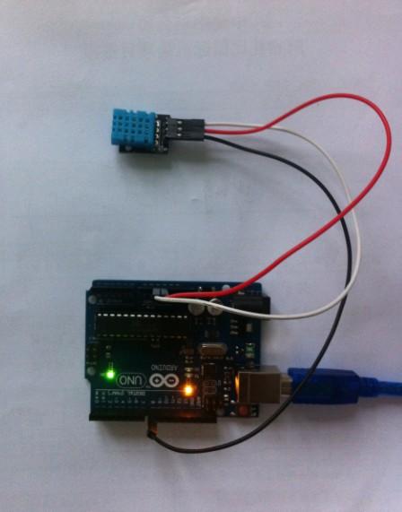 arduino和温湿度模块