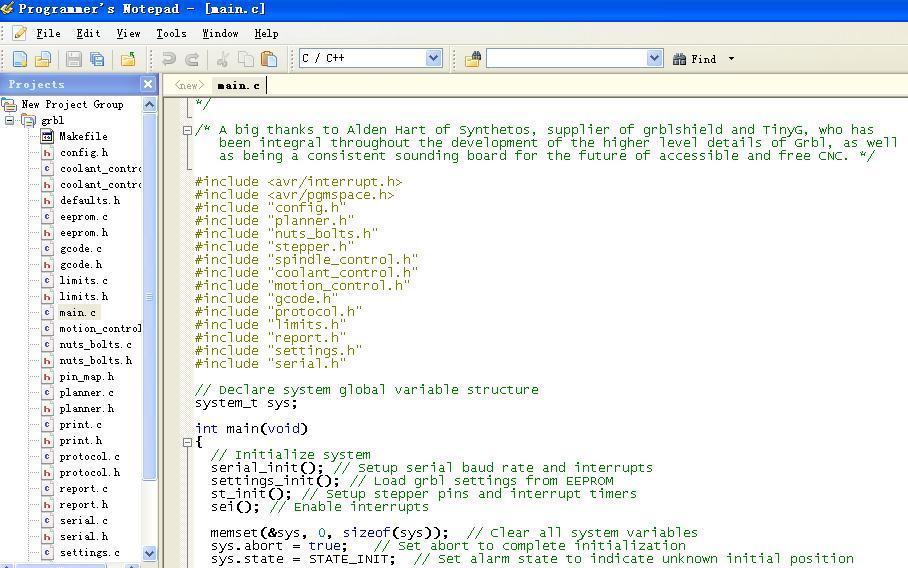 Arduino机械坊学习笔记04( 开始理解GRBL下位机)_2014_3_16