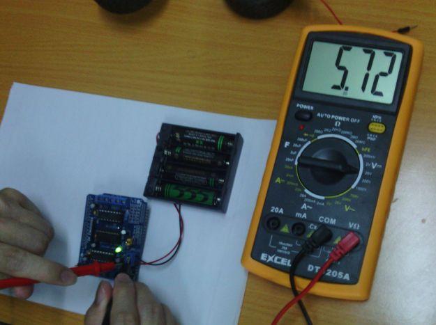 电机驱动板的电源有电压