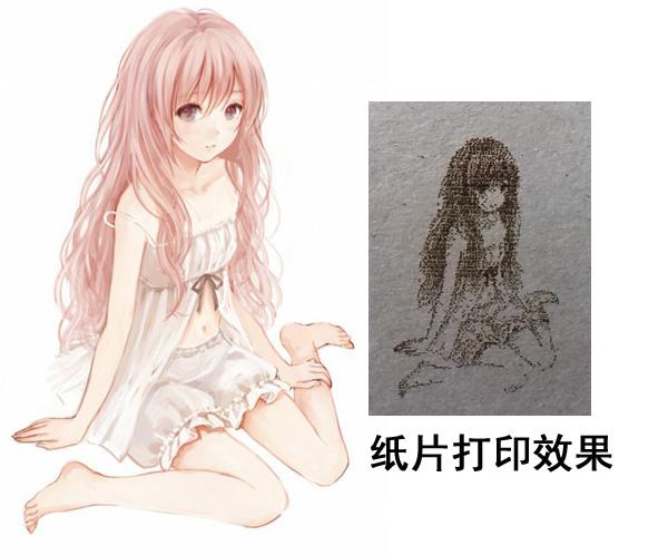 卡通女孩打印效果.jpg