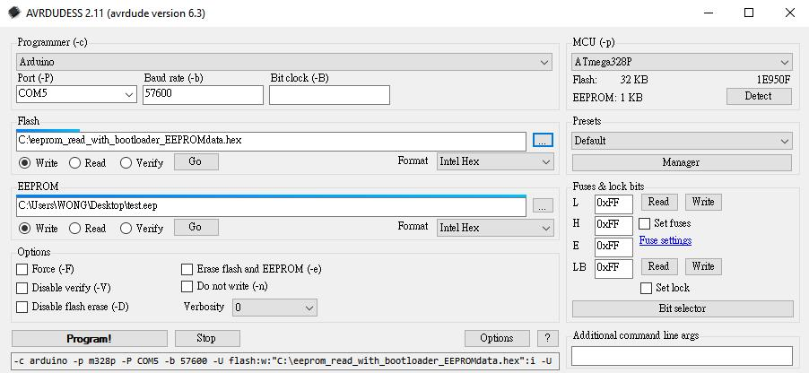 HK_LarduinoISP work with AVRDUDESS.JPG