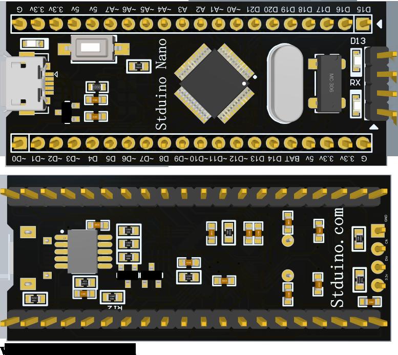 Stduino Nano效果图