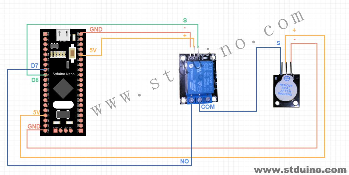 直流电机控制器原理_【更好用的单片机】Stduino学习(九)继电器模块 - STM32 - 极客 ...